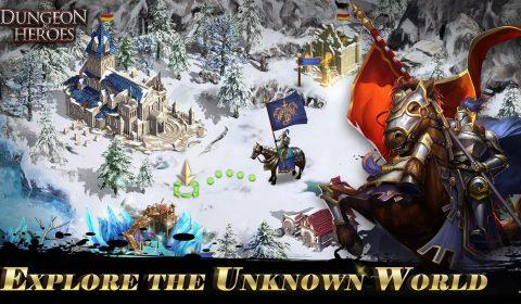 [รีวิวเกมมือถือ] เกม RPG แนวแฟนตาซีสุดมันส์ Dungeon & Heroes