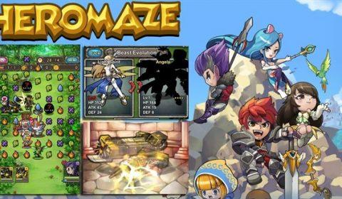 (รีวิวเกมมือถือ) Heromaze เกม Puzzle ผสม 4 แนวไว้ด้วยกัน ยิ่งเล่นยิ่งมันส์