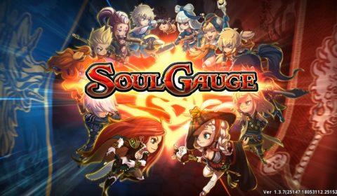 (รีวิวเกมมือถือ) Soul Gauge เกม MMORPG คอมโบสุดมันส์!