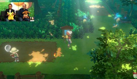 น่าสนใจมาก Pokemon: Let's GO! Pikachu / Eevee เผยรายละเอียดการเล่นมากขึ้นในงาน E3
