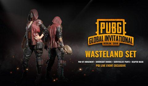 Limited PGI Skin!!ชุดพิเศษเฉพาะช่วงPGIงานแข่งใหญ่ของชาว PUBG ลองมาดูกันว่ามีอะไรแจกบ้าง