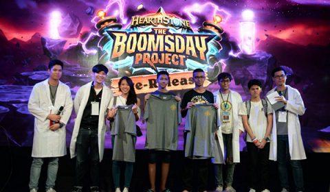 บรรยากาศงานก่อนเปิดตัวส่วนเสริมใหม่ The Boomsday Project ปาร์ตี้สุดพิเศษเพื่อเหล่าแฟนๆ Hearthstone ไทยโดยเฉพาะ