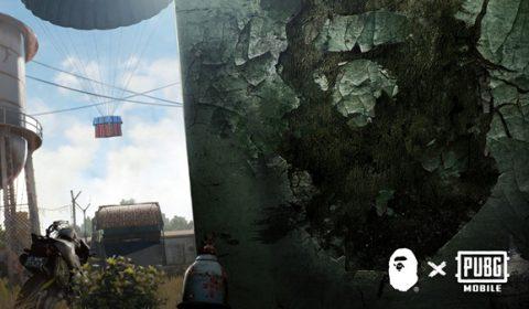 เฉลยแล้วโฆษณาปริศนาจาก PUBG MOBILE จับมือกับเสื้อผ้าแบรนด์ดัง Bathing Ape เตรียมส่งเสื้อผ้าคอลเลคชั่นใหม่ลงตัวเกมส์