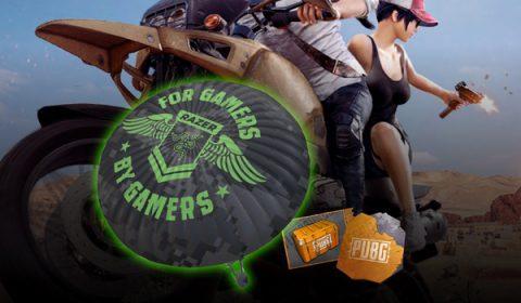 """ครั้งแรกกับ """"ร่มชูชีพ Razer"""" ลาย Limited จาก PUBG MOBILE เมื่อเติมเกมที่ช่องทาง MOL ตุลาคมนี้ เท่านั้น!!"""
