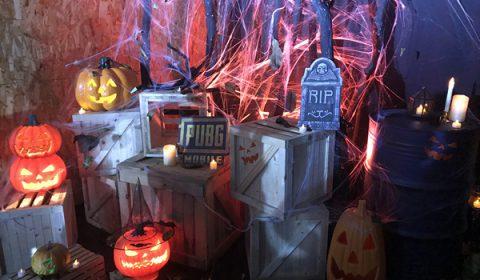 ปาร์ตี้สุดหลอน PUBG MOBILE Halloween Party เชิญเหล่า Youtuber เข้าร่วมปาร์ตี้กินไก่เล่นเกมส์ไปด้วยกันในคืนฮาโลวีน