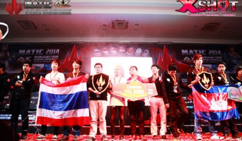 Rebirth Tt คว้าแชมป์โลก MATIC 2014 กวาดเงิน 340,000 บาท