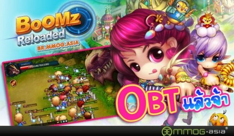 Boomz Reloaded เปิด OBT เหล่าเกมเมอร์แห่เล่นทะลักเซิร์ฟ