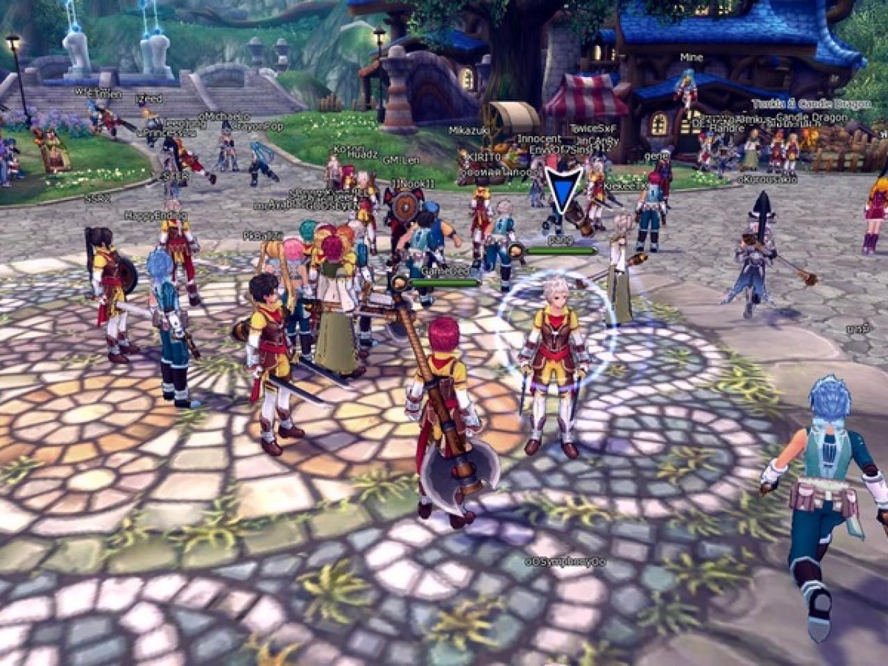 Fantasy Frontier เกมส์ MMO ตัวแรงเปิด CBT วันแรกคนอย่างล้น