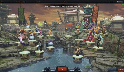 Heroes of Kingdoms เกมส์ใหม่ MOBA-RPG พร้อมเปิด CBT 13 มีนาคมนี้