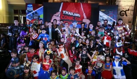Thailand Comic con 2014 รวมพลป๊อปคัลเจอร์ ครั้งยิ่งใหญ่ครั้งแรกของไทย