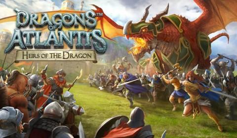 รีวิวเกมมือถือ : Dragon of Atlantis สุดยอดเจ้าอาณาจักรมังกรแห่ง Atlantis