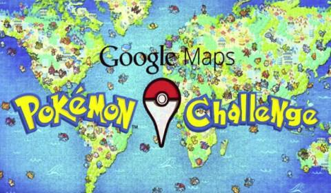 ฉลองเทศกาล April Fools' Day ไปกับ Google Maps Pokémon Challenge