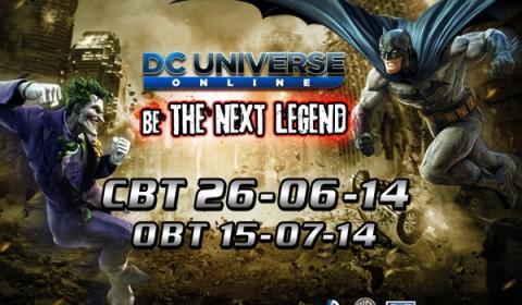 พร้อมกู้โลก! DC Universe Online เตรียม CBT 26 มิถุนายนนี้