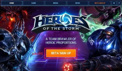 สมัครด่วน! Heroes of the Storm เปิด Technical Alpha เพิ่มเติมทั่วโลก!!
