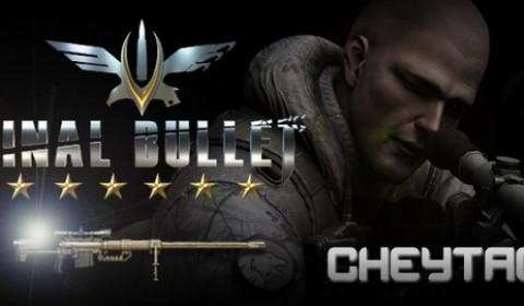Final Bullet เล่น CBT วันนี้ แจก CheyTac ถาวร ฟรี!! พร้อมไอเทมอีกเพียบ