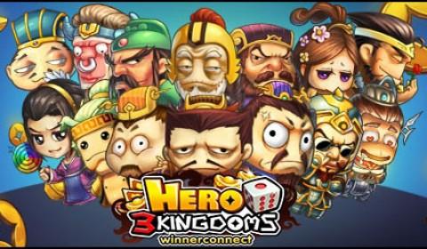 Hero3Kingdoms เกมส์ 3 ก๊ก น้องใหม่สุดเพี้ยน