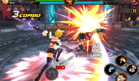 Kritika:Chaos unleashed เกมส์แอ็คชั่นสุดมันส์บนมือถือ คุณภาพคับแก้ว