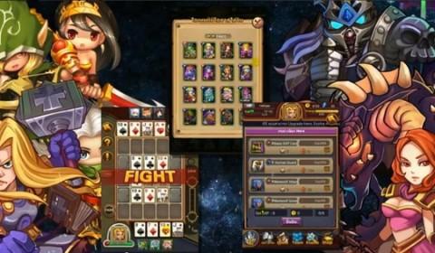 [รีวิวเกม]เปิดไพ่ดวลโป๊กเกอร์กู้โลกกับ Poker Wars