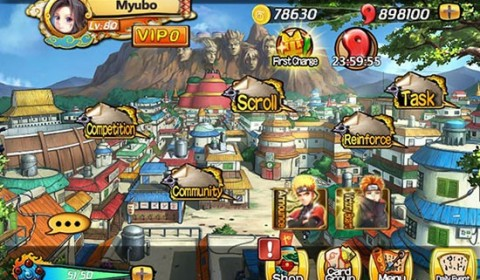 Harem Nin Nin ดาวน์โหลดเกมส์ได้แล้ววันนี้ ทั้ง iOS และ Android