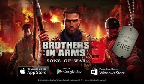 Brothers in Arms 3 ยกระดับความมันส์นำทีมพาเพื่อนพ้องออกยิงถล่มเมือง
