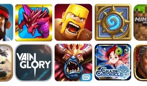 จัดอันดับ 10 เกมออนไลน์บนมือถือ ยอดเยี่ยมในปี 2557 !!