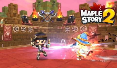MapleStory 2 เผยระบบ PvP ทั้ง 3 โหมด เจอกันได้ CBT นี้