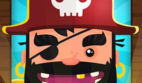 สวมบทโจรสลัด Pirate Kings แล้วออกบุกปล้นเพื่อนกันเถอะ เล่นง่ายแค่แตะ!!!