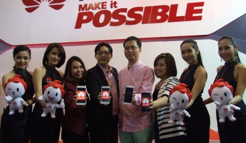 หัวเว่ยเปิดตัว Huawei G7 และ Huawei G 620S พร้อมขนสมาร์ทโฟนหลากรุ่นเอาใจลูกค้าในงาน Thailand Mobile Expo 2015