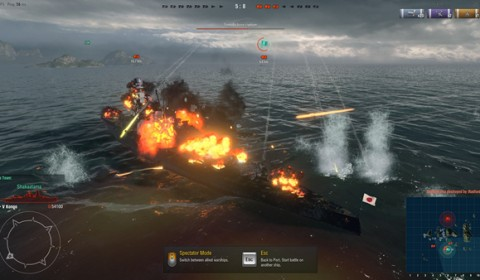 เปิดทดสอบ World of Warships ช่วง CBT สงครามเหนือน่านน้ำอันแสนดุเดือด