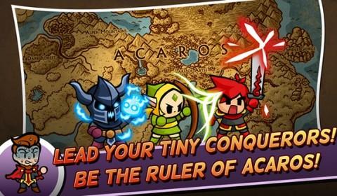 Tiny Conquerors เกม RPG สุดมันส์ ส่งกองทหารออกยึดฐานทัพศัตรู