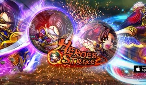 Heroes Strike สงครามลูกแก้วแห่งสามก๊ก เกมมือถือใหม่ล่าสุดจาก SNSplus