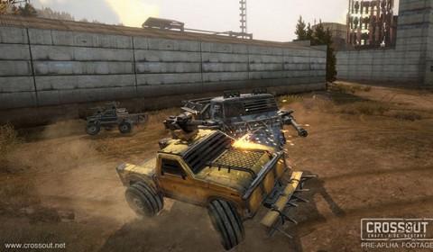 Crossout เกมส์ออนไลน์แนวใหม่ ผจญภัยในแดนเถื่อนพร้อมพาหนะคู่ใจที่แต่งได้ตามใจคุณ