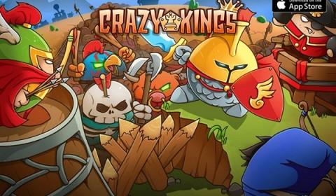 Crazy Kings เกม Tower Defense แนวใหม่ สร้างป้อมจากการ์ดฮีโร่ป้องกันศัตรู