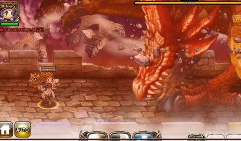 Dragon Blaze อัพเดทใหญ่ ขยายเลเวลพร้อมรับมังกรสุดโหด!