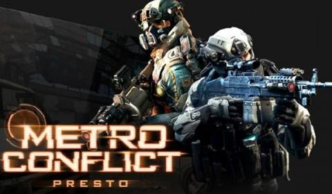 เกม Shooter ใหม่ล่าสุด Metro Conflict เตรียมพร้อม Beta Test 22 มิถุนายน นี้
