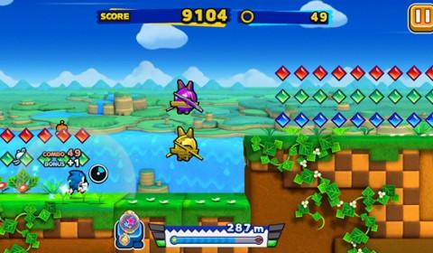 Sonic Runner กลับมาแล้วเจ้าเม่นสีฟ้า พร้อมทวงฉายาราชาเจ้านักวิ่ง
