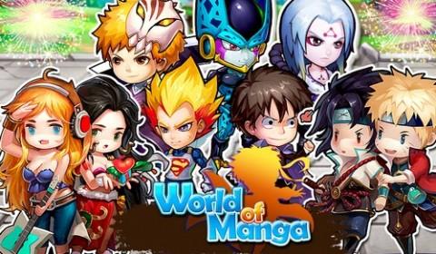 World of Manga ประกาศศักดาเหล่า ฮีโร่ทุกสารทิศ