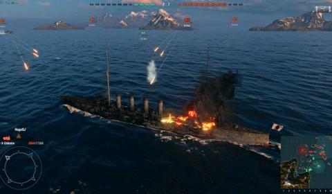 World of Warships เปิดน่านน้ำ ปะทุสมรภูมิเดือดรอบ OBT