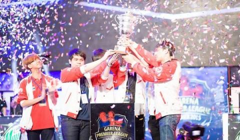 Bangkok Titans บุกเวียดนาม คว้าแชมป์ Garena Premier League Summer 2015