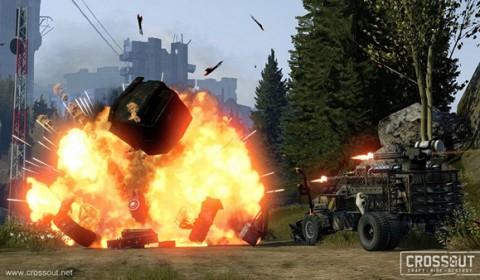 Crossout เกมส์ออนไลน์ใหม่ เผย Trailer ให้เห็นระบบการเล่นเต็มตา