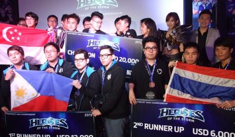 เผยโฉมผู้ชนะ Heroes of the Storm Southeast Asia Championship 2015 คว้าเงินรางวัลกว่า 7 แสน พร้อมสิทธิ์ลุย Blizzcon 2015