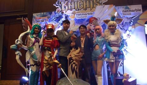 แถลงข่าวเปิดตัว Seven Knights เกมส์มือถือแห่งปี เตรียมพบกันตุลาคมนี้