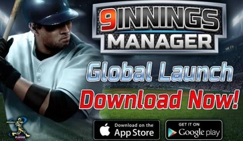 9 Innings Manager เกมส์มือถือให้คุณได้เป็นผู้จัดการทีมเบสบอลสุดเจ๋ง จาก Com2us