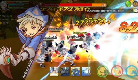 Line Dragonica Mobile ได้เพชรไม่ยาก สายฟรีต้องลอง