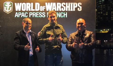 แถลงข่าวเปิดตัวยิ่งใหญ่ World of Warships บนเรือรบของจริง HMAS Vampire