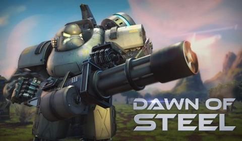 เปิดสงครามหุ่นยนตร์รบ Dawn of Steel เกมวางแผนทำลายฐานทัพยึดดวงดาว