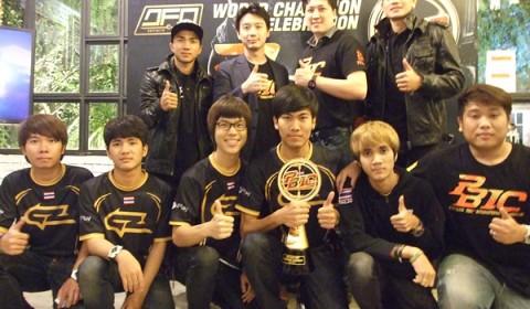 Point Blank World Champion Celebration ร่วมยินดี DEFINITE GZ-GAMING คว้าแชมป์ PBIC