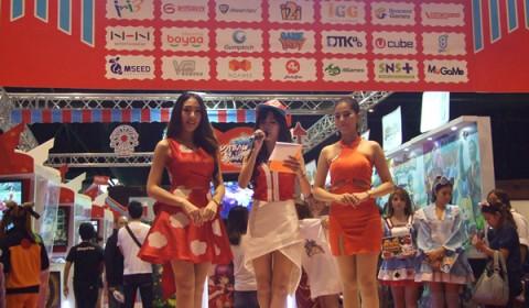 MOL ร่วมกับบัตรเติมเงิน Happy ยกทัพเกมส์ดังร่วมงาน Thailand Mobile Expo 2015