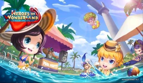 Heroes of Wonderland ฉีกนิยายน่ารักใส ๆ กลายร่างเป็นสายโหด