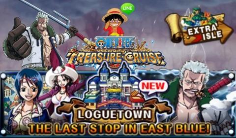 One Piece Treasure Cruise อัพเดทเมืองใหม่ การจอดครั้งสุดท้ายในอิสต์บลู!